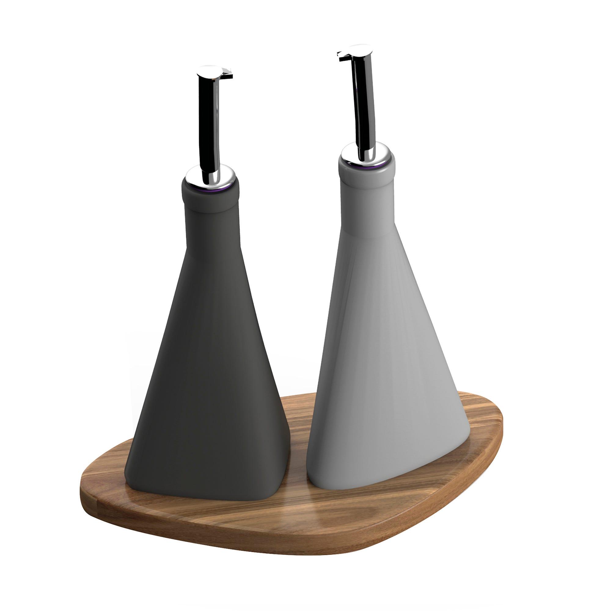 Dispensadores de aceite y vinagre Tintelle, 3 piezas