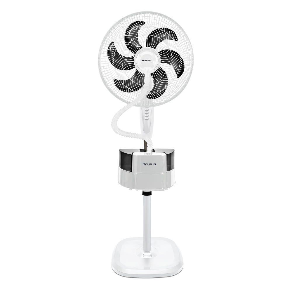 Ventilador de pedestal Taurus 3 en 1 color blanco