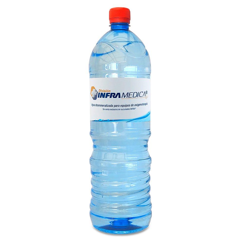 Agua desmineralizada Infra® de 1.5 L
