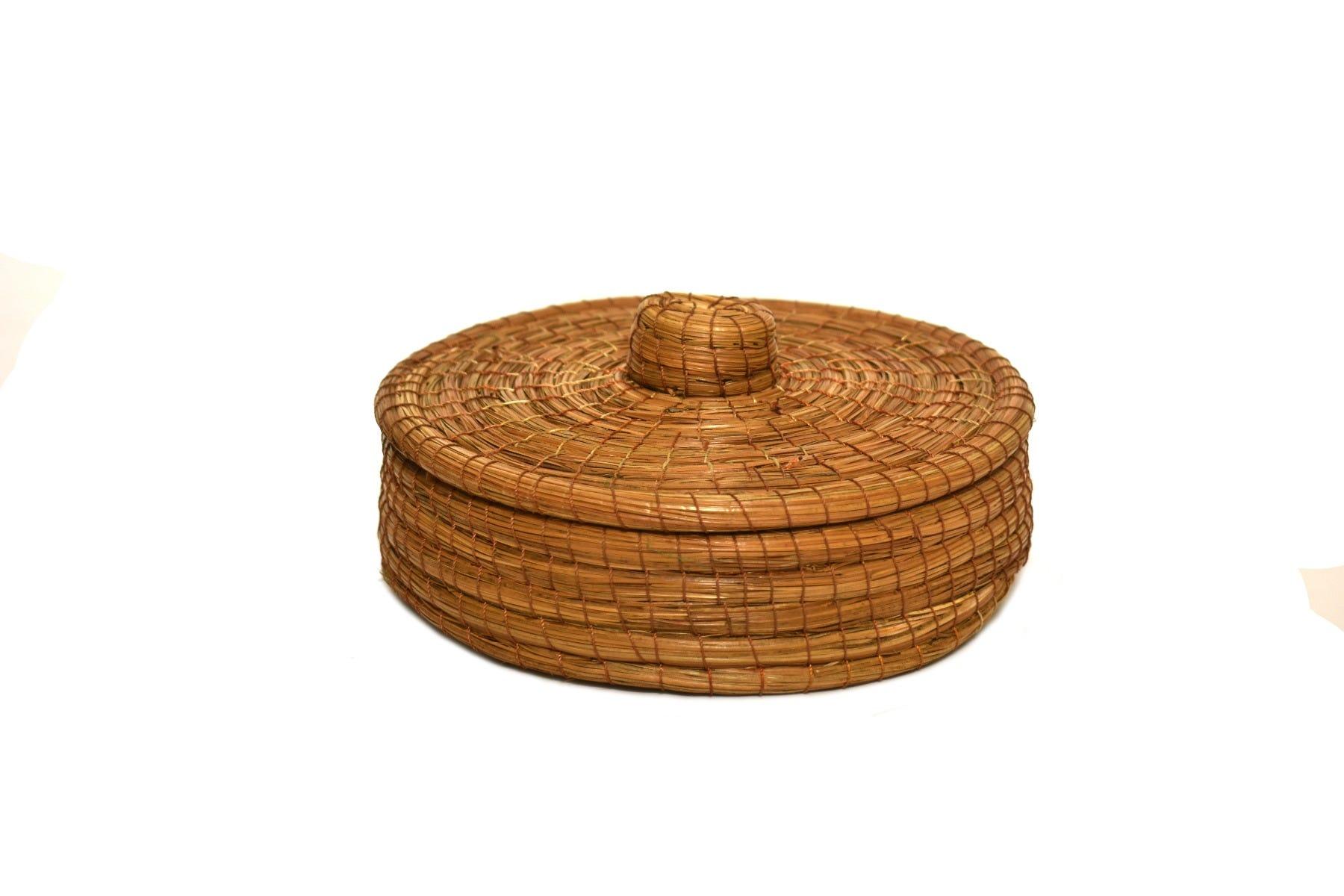 Tortillero artesanal de hojas de pino Mejicu®