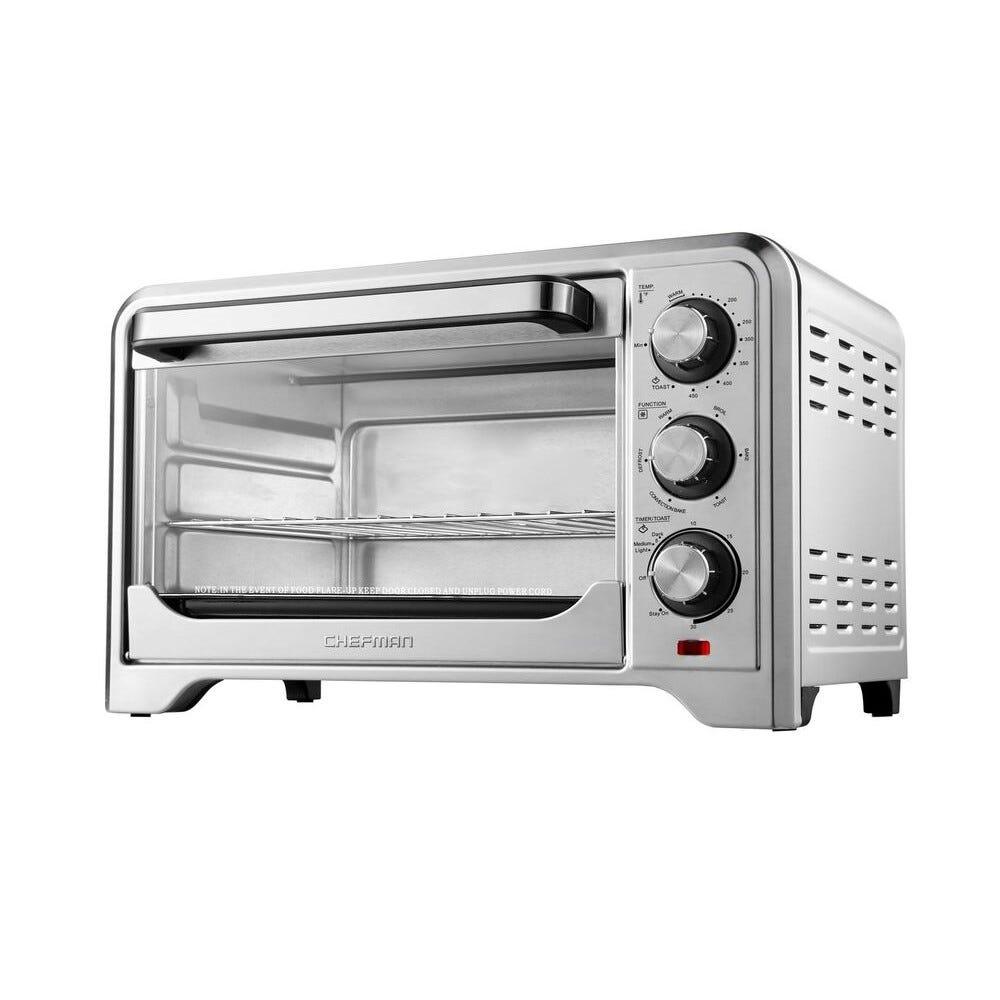 Horno tostador de convección de acero inoxidable Chefman®