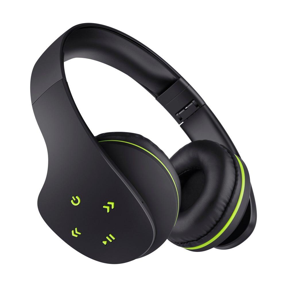 Audífonos inalámbricos de plástico Steren® color negro