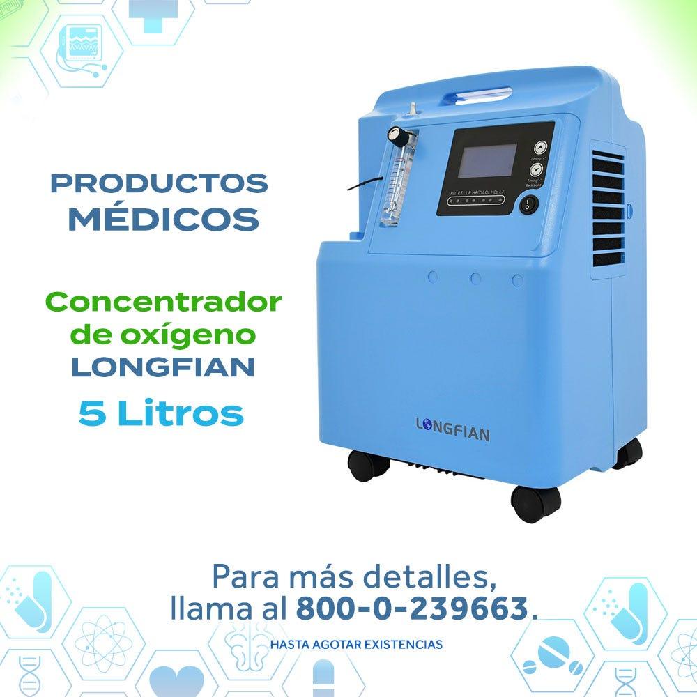 Concentrador de oxígeno LONGFIAN 5L