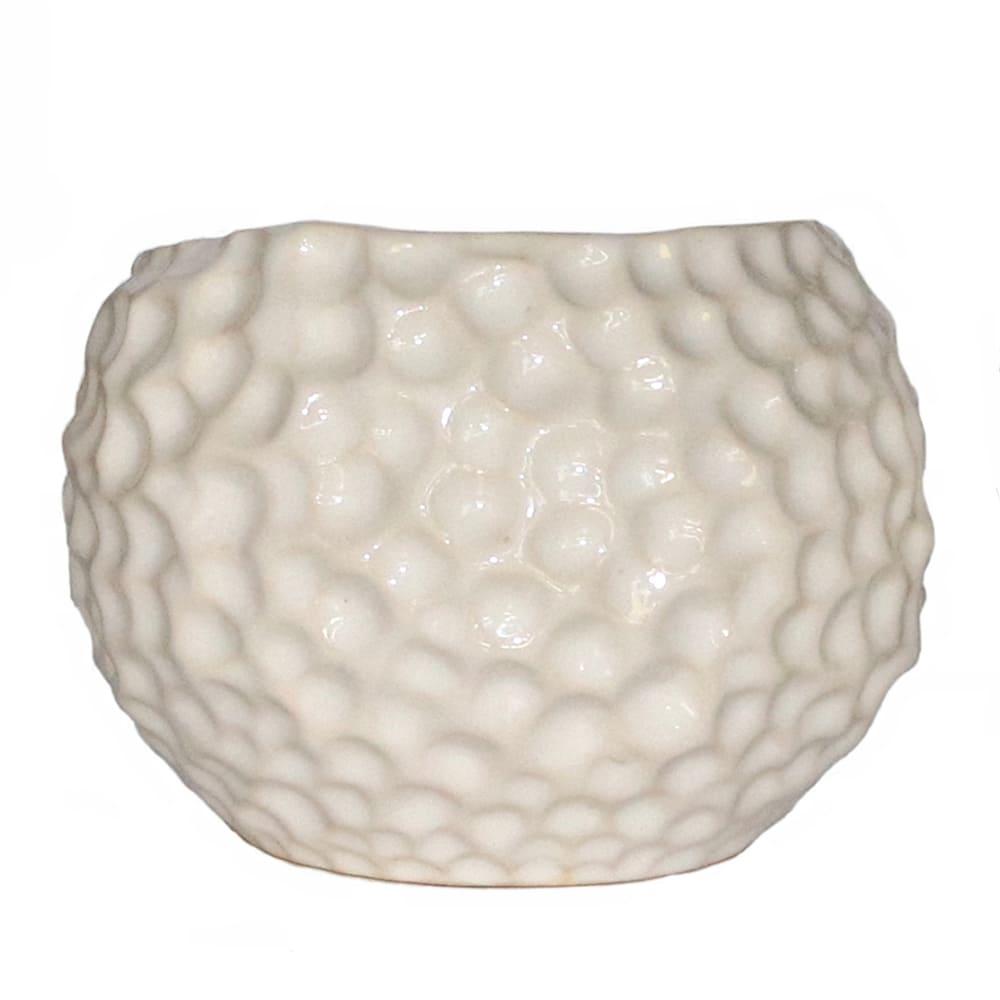 Maceta de cerámica Casa Mejicú® con forma de luna