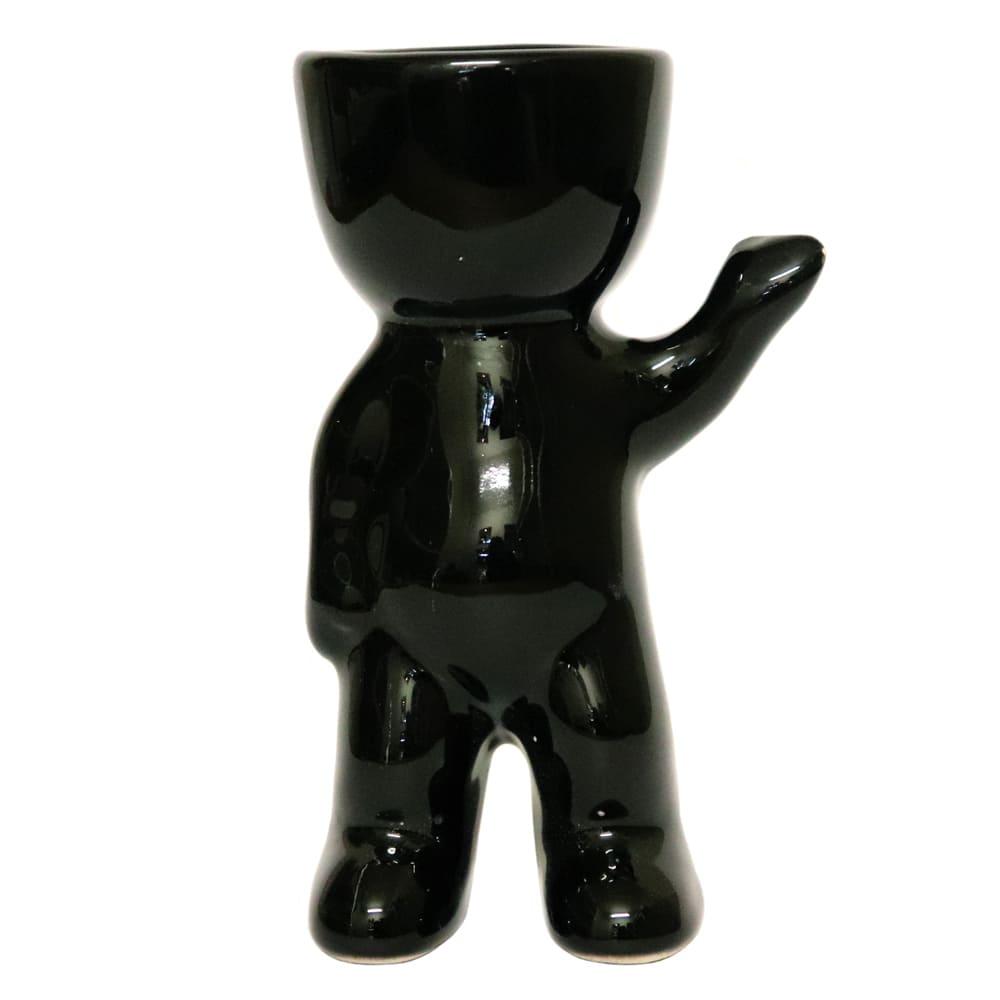 Maceta de cerámica Casa Mejicú® Roberto con forma de muñeco de pie