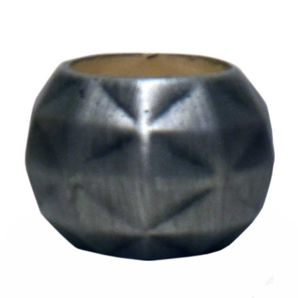 Maceta de cerámica Casa Mejicú® con forma de esfera