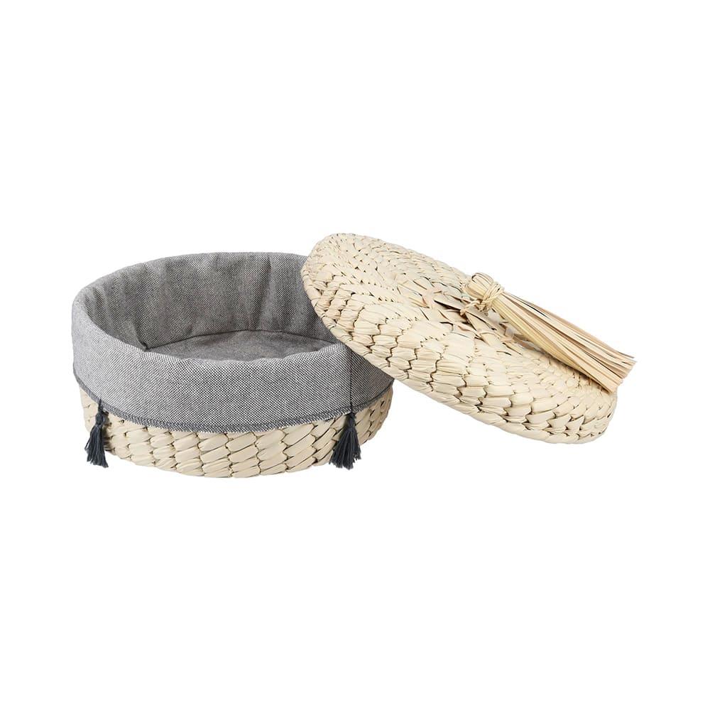 Tortillero de fibra de palma AC Palma® artesanal con funda