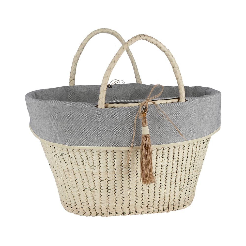 Canasta de fibra de palma AC Palma® artesanal
