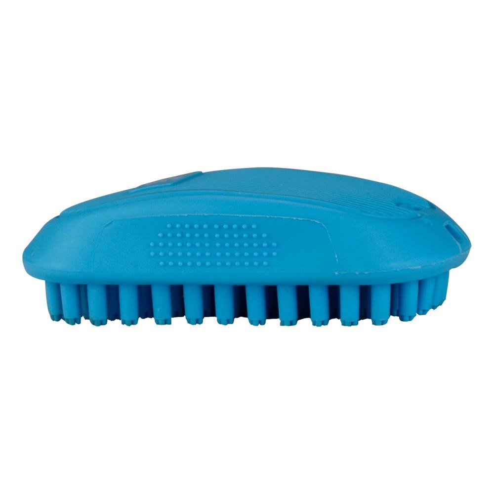 Cepillo para mascotas de goma Fancy Pets® color azul