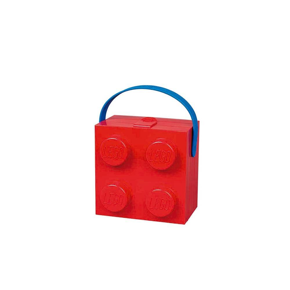 Lonchera de polipropileno LEGO® Box color rojo