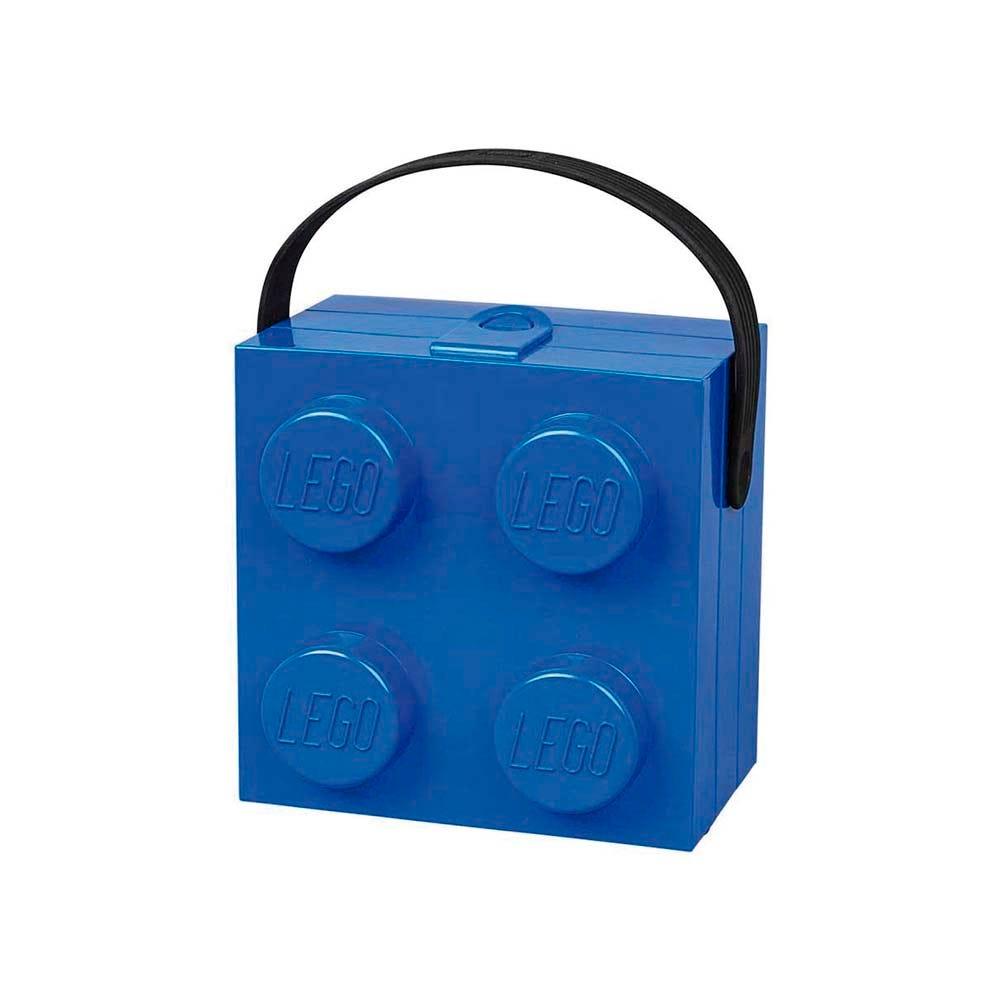 Lonchera de polipropileno LEGO® Box color azul