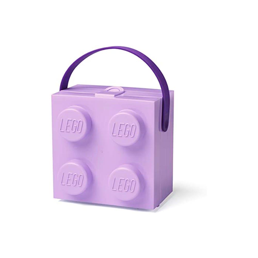 Lonchera de polipropileno LEGO® Box color lila