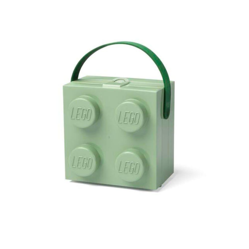 Lonchera de polipropileno LEGO® Box color menta
