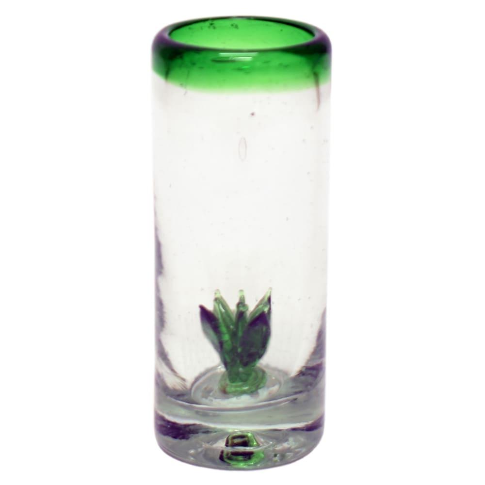 Vaso tequilero de vidrio Mejicú Maguey