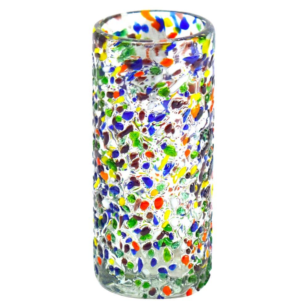 Vaso tequilero de vidrio Mejicú granizado