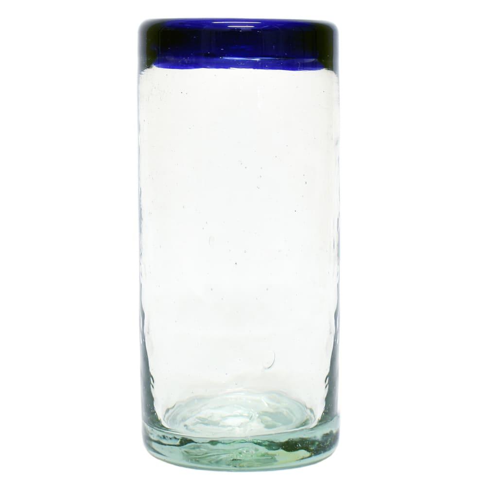 Vaso tequilero de vidrio Mejicú liso