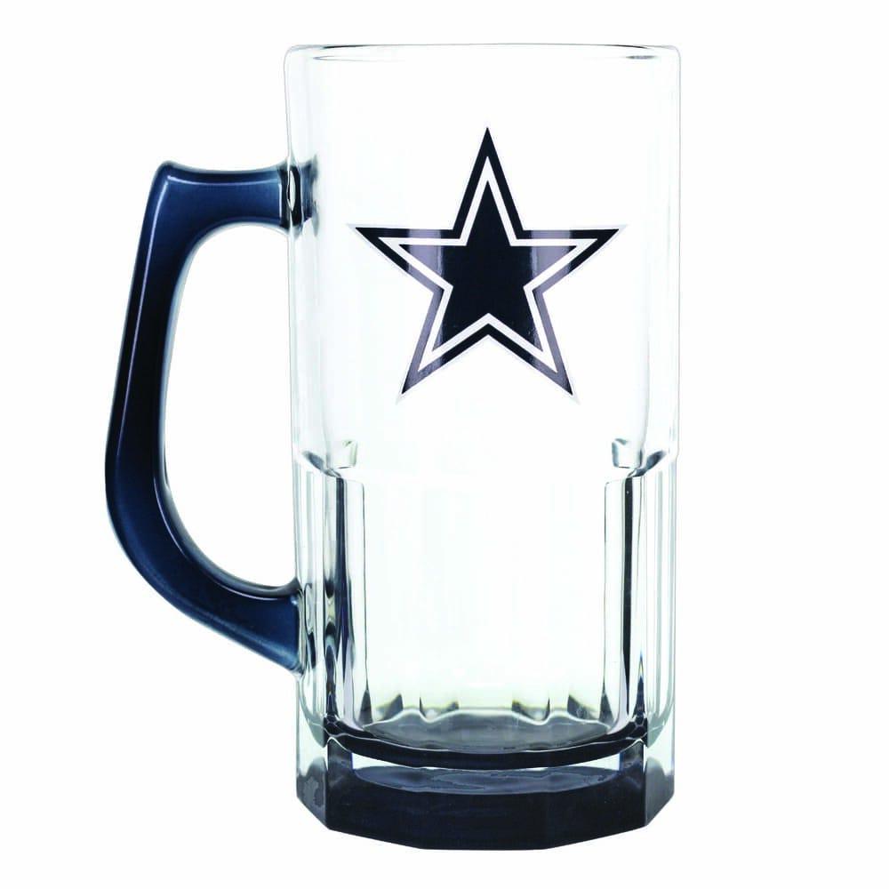 Tarro de vidrio NFL Cowboys de 1 L