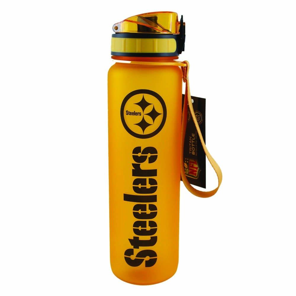Botella de plástico NFL Steelers de 1 L