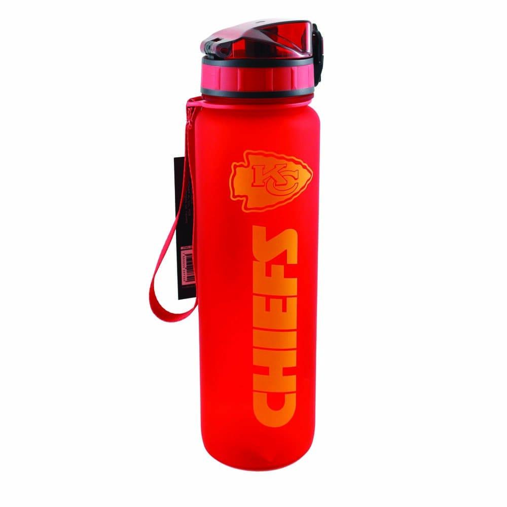 Botella de plástico NFL Chiefs de 1 L