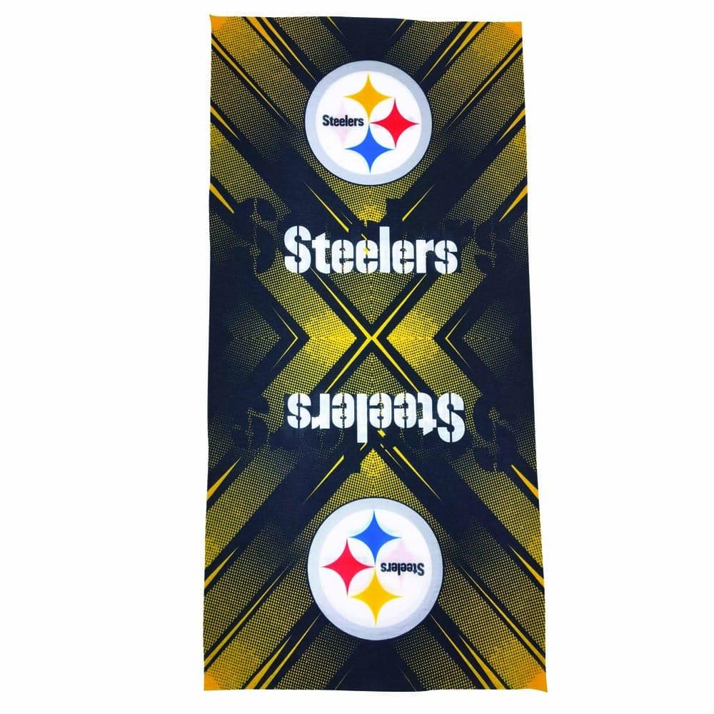 Diadema de poliéster NFL Steelers multifuncional
