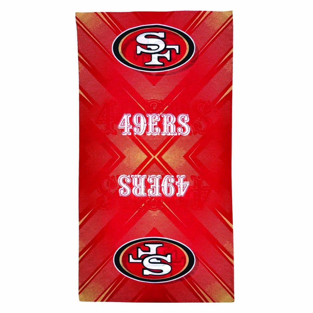 Diadema de poliéster NFL 49ers multifuncional