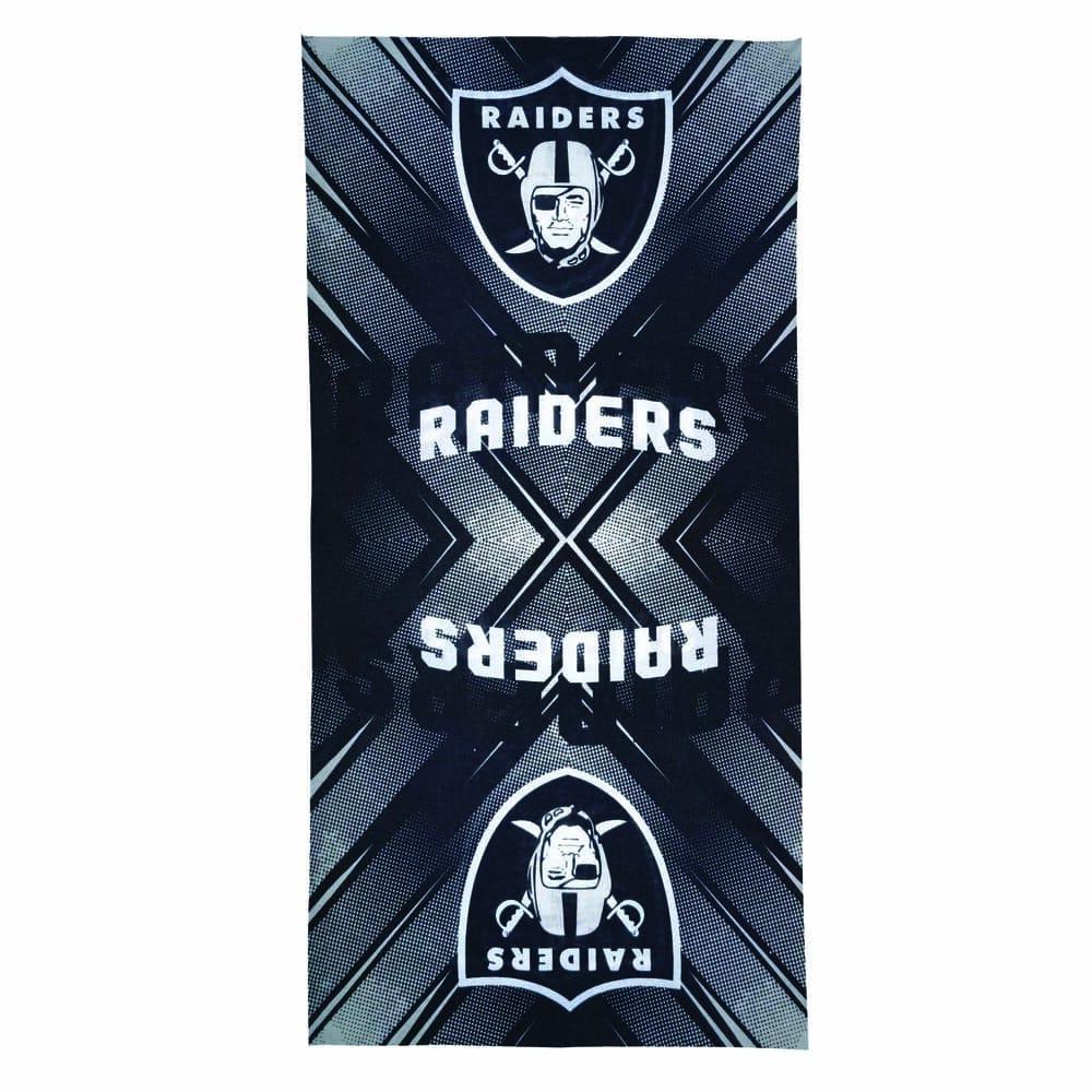 Diadema de poliéster NFL Raiders multifuncional
