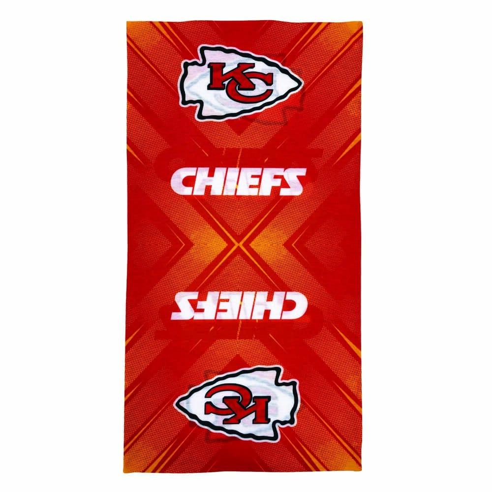 Diadema de poliéster NFL Chiefs multifuncional