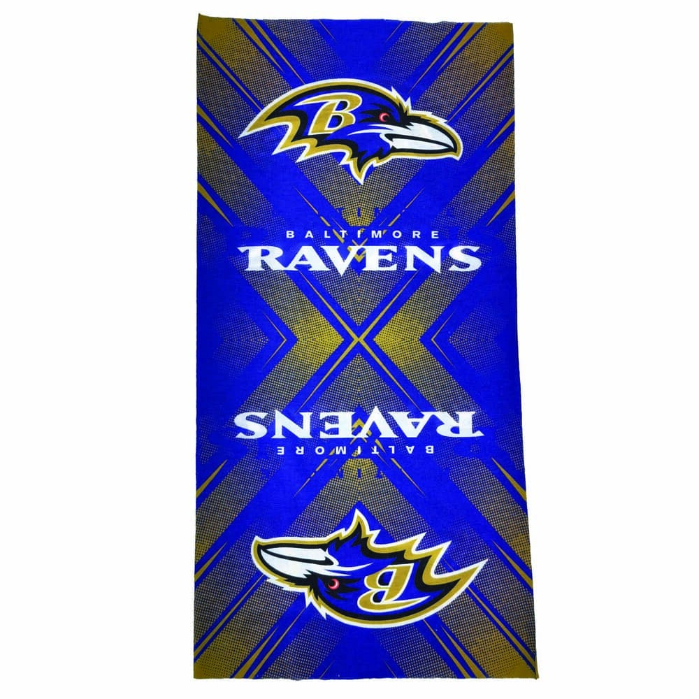 Diadema de poliéster NFL Ravens multifuncional
