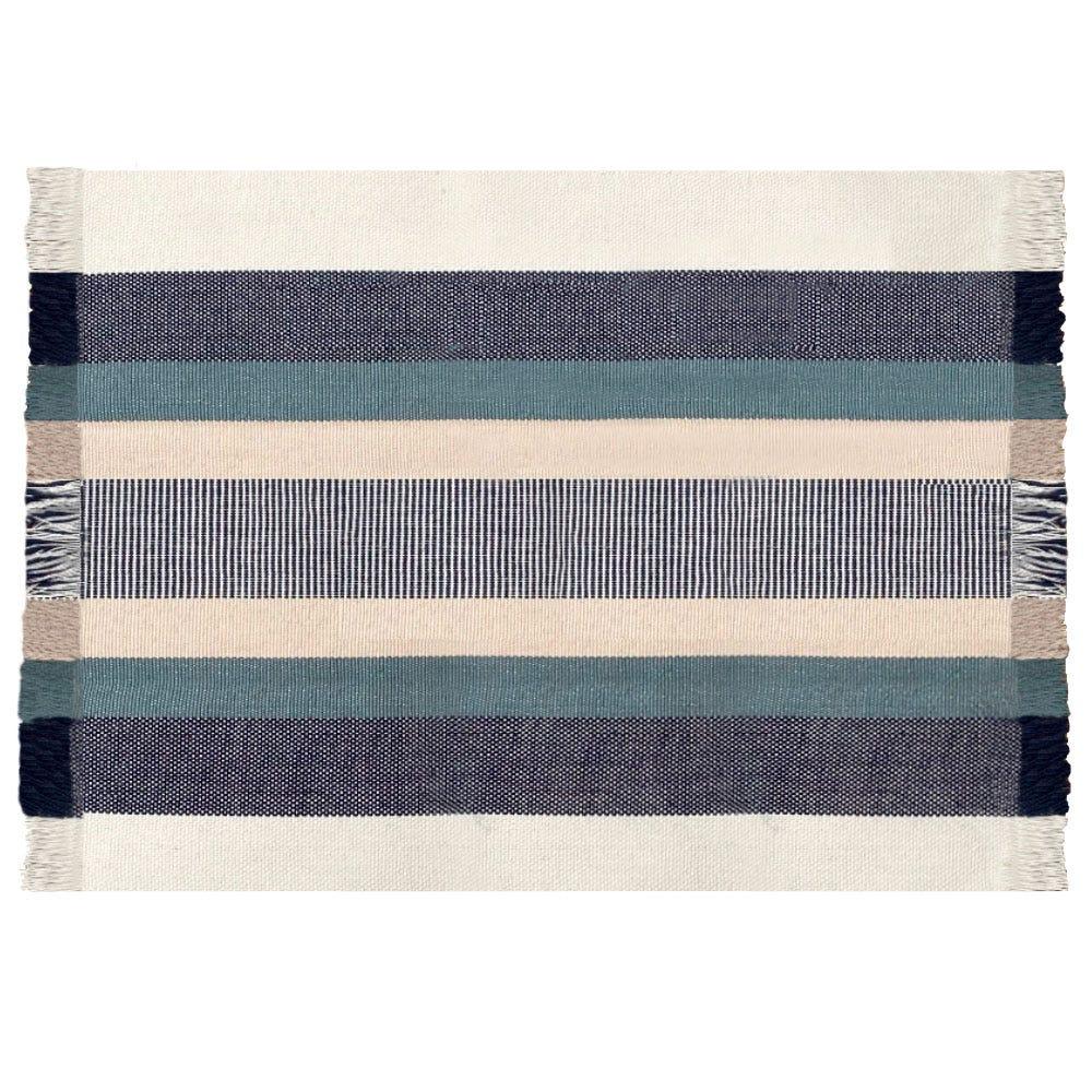 Mantel individual de algodón Despertar® color azul