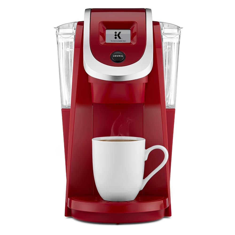 Cafetera de plástico Keurig® K-200 color rojo
