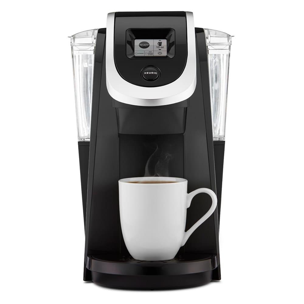 Cafetera de plástico Keurig® K-200 color negro