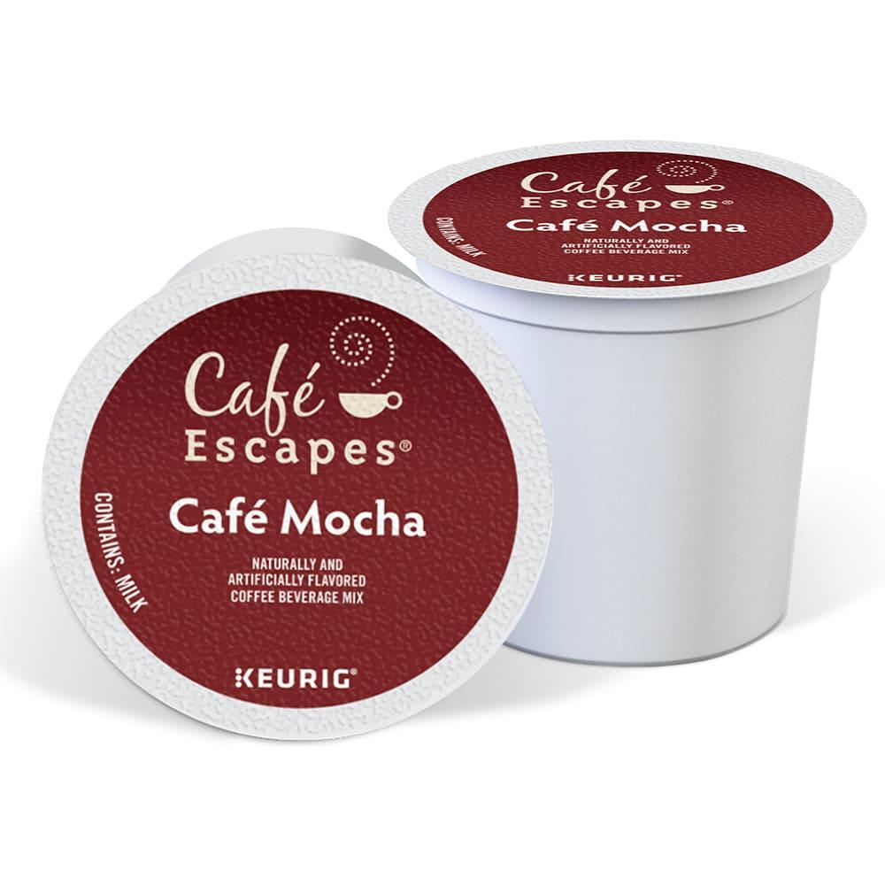 Cápsulas de café moca Keurig® Café Escapes®