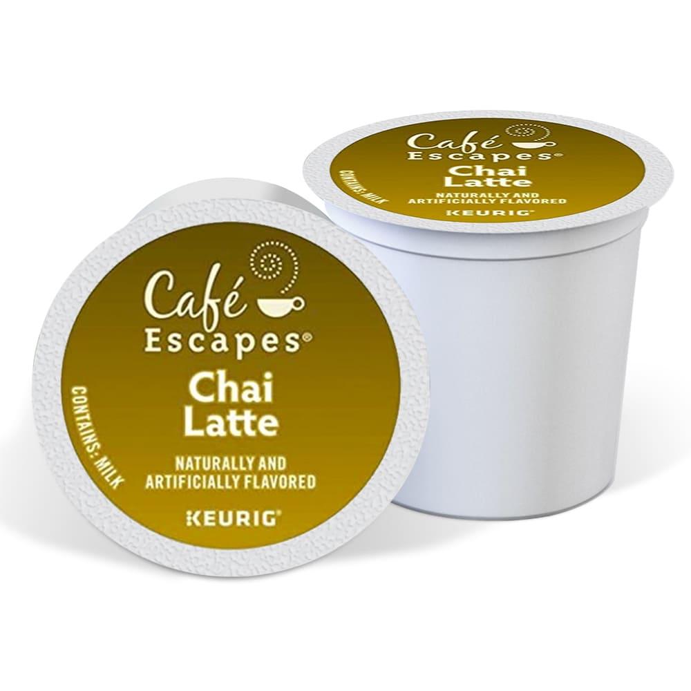 Cápsulas de té chai latte Keurig® Café Escapes®