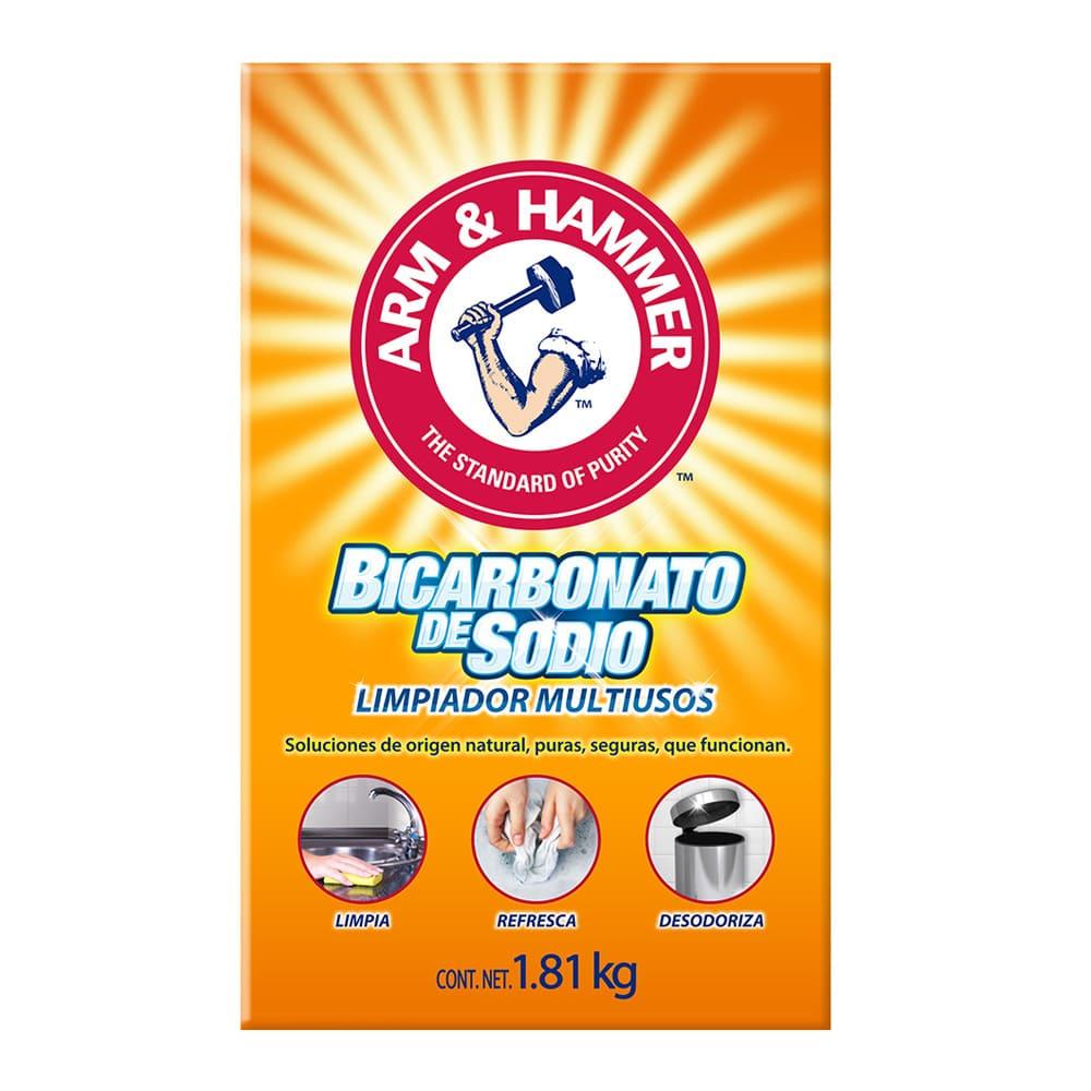 Bicarbonato de sodio Arm & Hammer™ limpiador multiusos de 1.81 kg