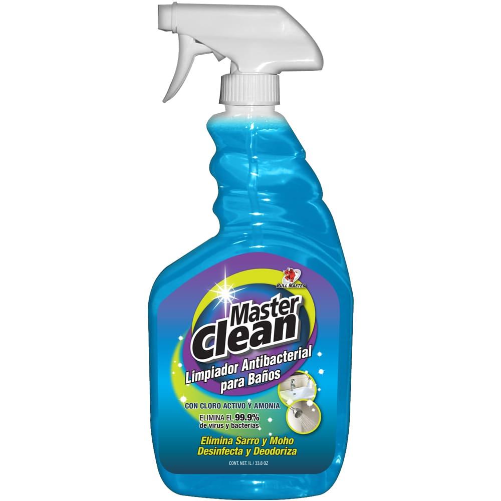 Limpiador antibacterial para baños Master Clean® de 1 L