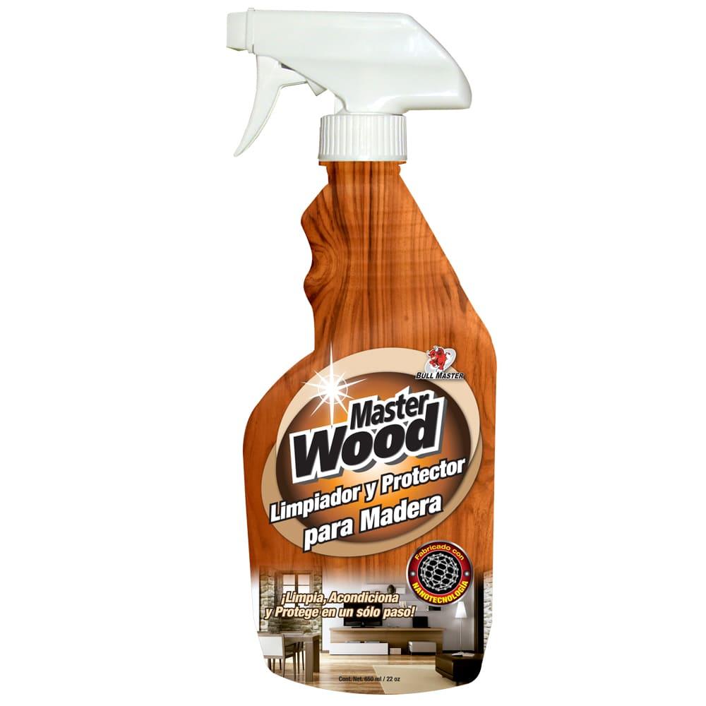 Limpiador y protector para madera Master Clean® de 650 mL