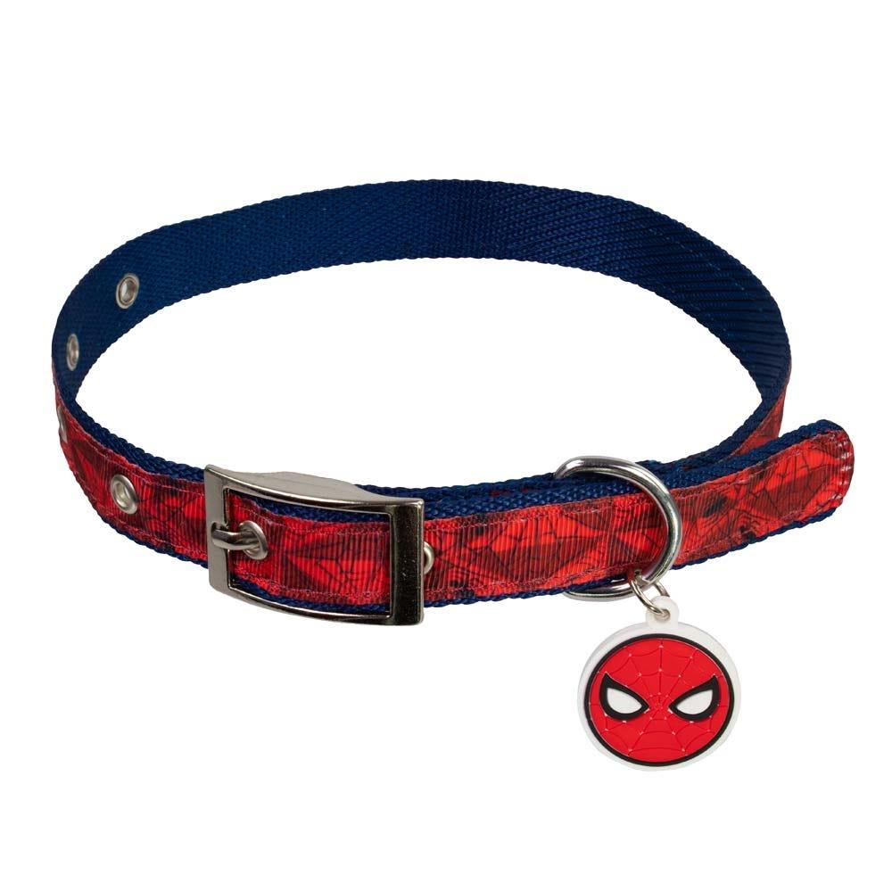 Collar para perro de poliéster chico Pet Ruz® Marvel Spider-Man