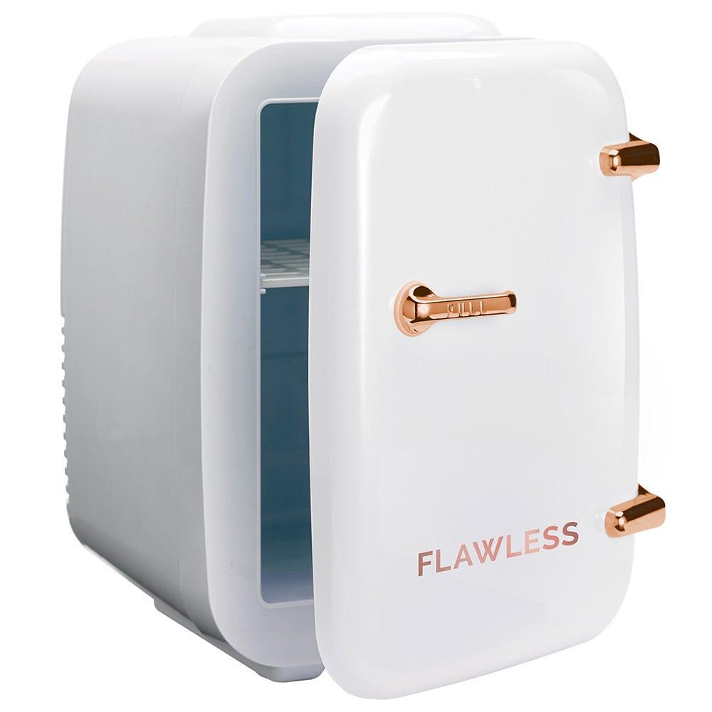 Mini refrigerador de belleza Flawless® color blanco