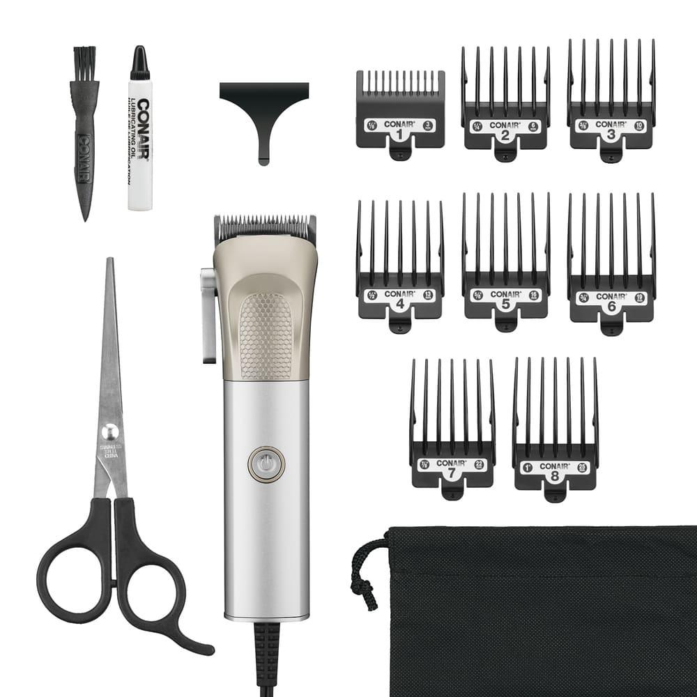 Recortadora de cabello Conair® Metalcraft color plata