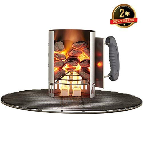 Iniciador de fuego de acero aluminizado Weber® Rapidfire