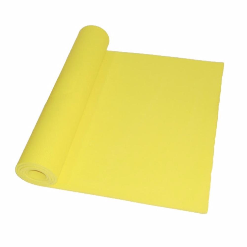 Tapete de yoga Brescia en amarillo