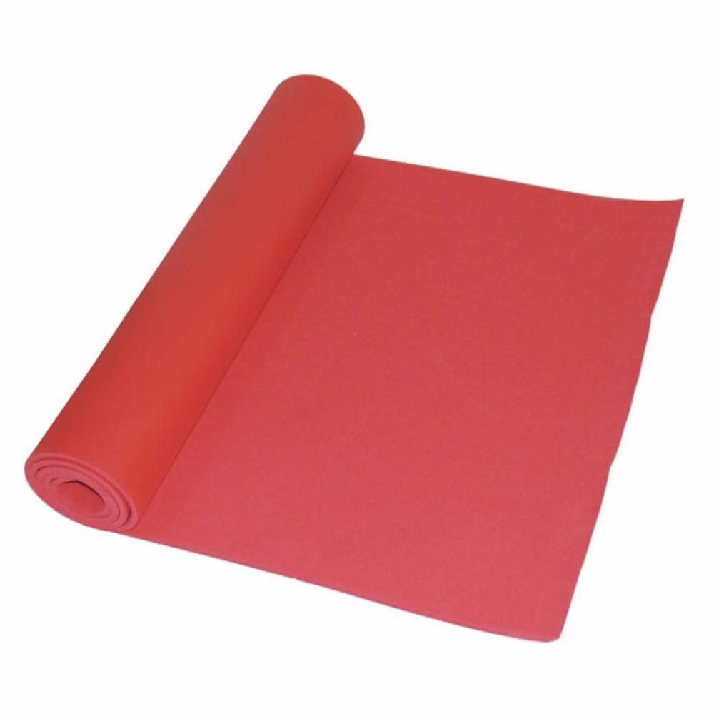 Tapete de yoga Brescia en rojo