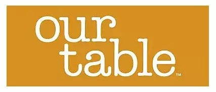 our table Bed Bath and Beyond