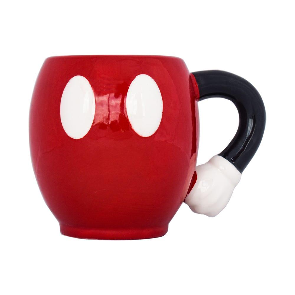 Taza 3D de Mickey Mouse en rojo, 500 mL