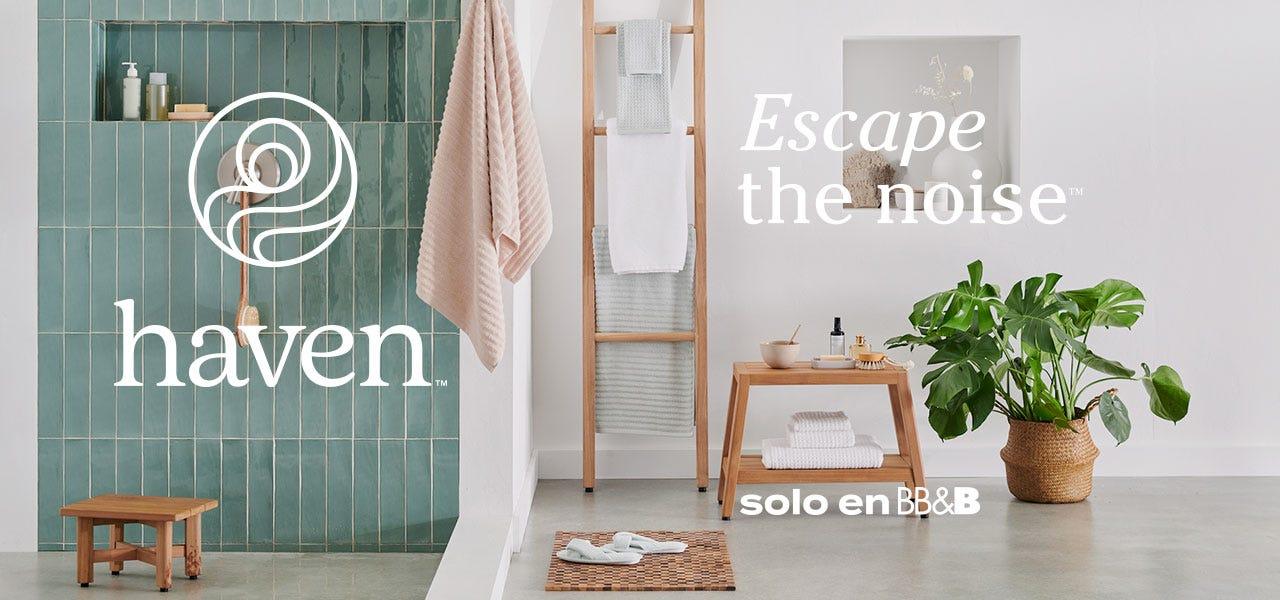 Escapate spa Haven tranquilidad descanso BedBathandBeyond