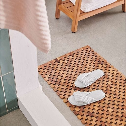 Pantuflas de baño